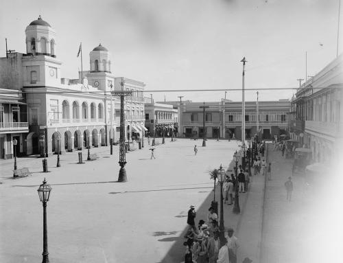 Plaza de Armas (c. 1901)