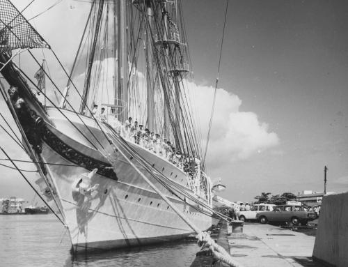 Visita del buque Juan Sebastián Elcano a Puerto Rico (1970)