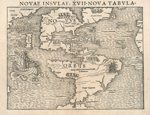 Mapa del Nuevo Mundo (1540)