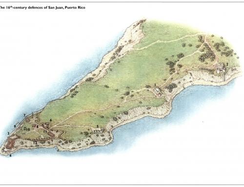 Defensas de San Juan en el siglo XVI