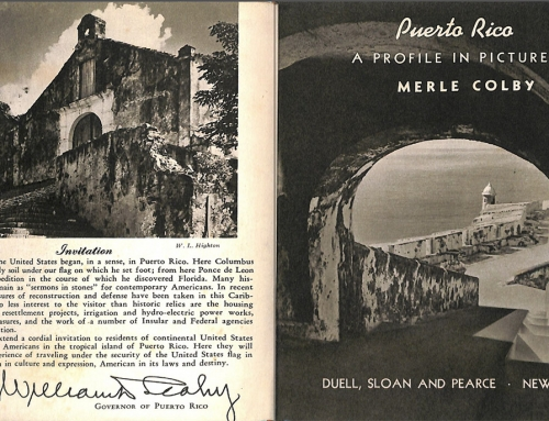 "Libro ""Puerto Rico: A Profile in Pictures"" (1940)"