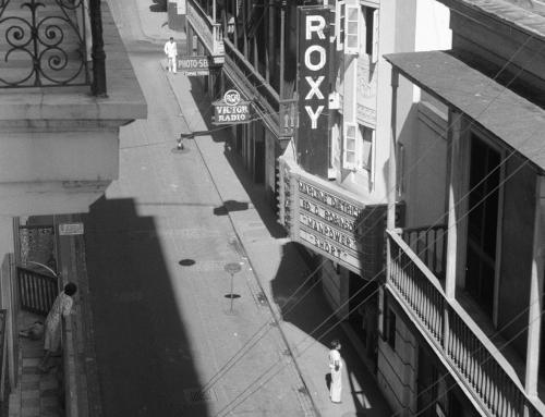 Cine Roxy en el Viejo San Juan (1941)