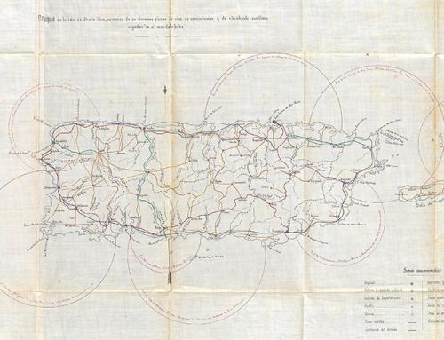 Croquis de la isla de Puerto-Rico (1883)