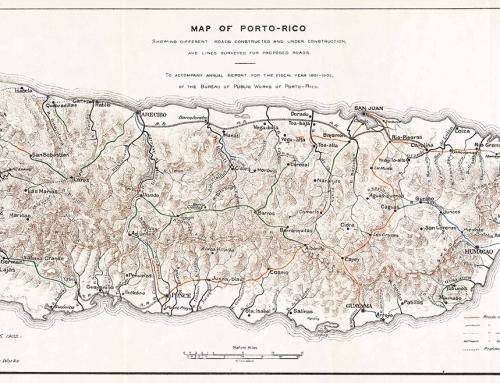 Map of Porto-Rico (1902)