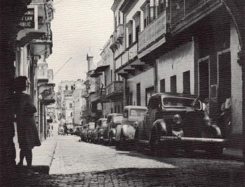 Calle del Cristo (c. 1945)