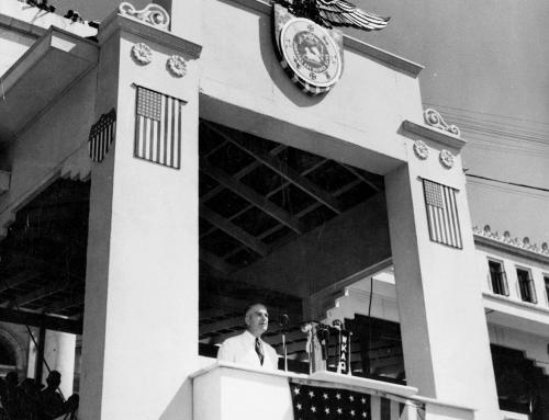 Inauguración de Rexford Guy Tugwell como gobernador de Puerto Rico (1941)