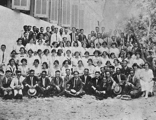 Clase graduanda Central High School (1923)