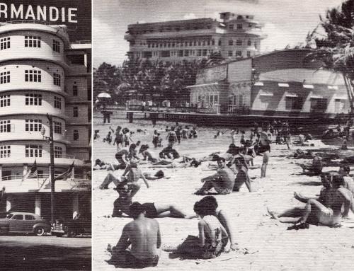 Hotel Normandie y El Escambrón (c. 1945)
