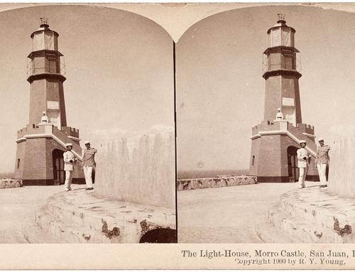 Faro del Castillo San Felipe del Morro (1900)