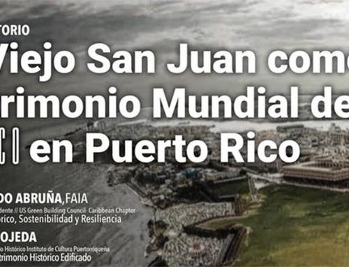 """Conversatorio """"El Viejo San Juan como Patrimonio Mundial de la UNESCO en Puerto Rico"""""""