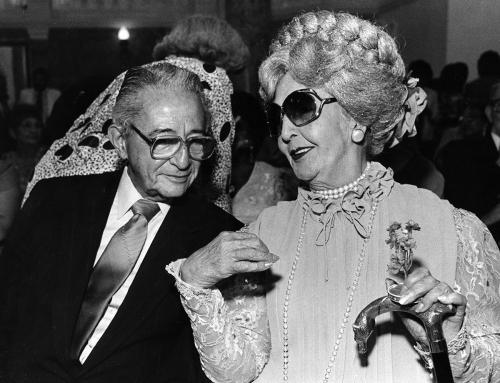Felisa Rincón conversa con Jaime Benítez (1988)