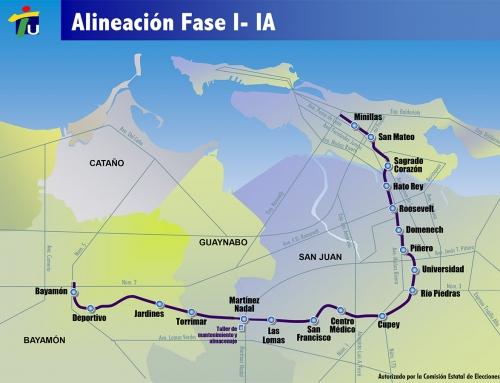 Mapas del Tren Urbano (2000)