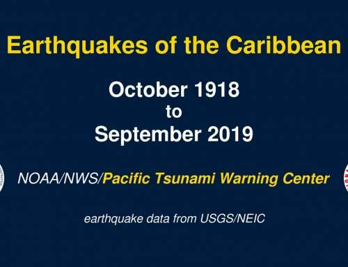 Earthquakes of the Caribbean: 1918 – 2019