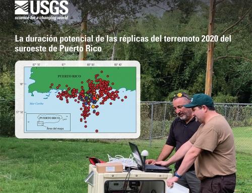 Informe del USGS sobre la duración de réplicas del terremoto de 2020