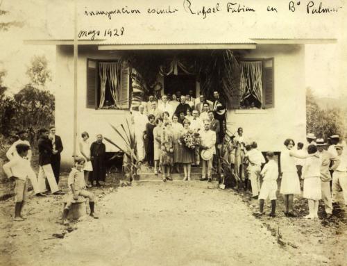Inaguración de la escuela Rafael Fabián en Aguadilla, Puerto Rico (1928)